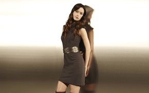 Picture look, pose, background, shadow, dress, actress, dress, background, hair, pose, actress, shadow, Summer Glau, Summer …