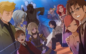Picture anime, art, characters, Baccano!