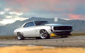 Picture Auto, Chevrolet, Machine, Grey, 1969, Camaro, Car, Art, Chevrolet Camaro, Vehicles, Classics, Transport & Vehicles, …