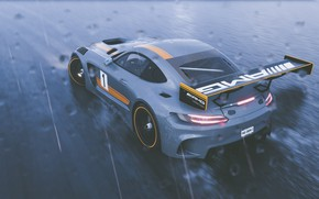 Picture Mercedes-Benz, GTR, game, AMG, Ubisoft, The Crew 2