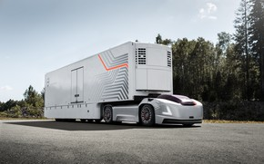 Picture truck, volvo vera, autonomous vehicle