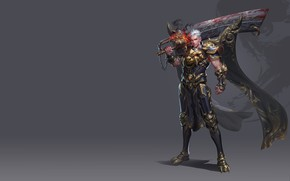 Picture weapons, sword, warrior, art, level, costume design, Yang chen, Work charts two years ago, fantasy …