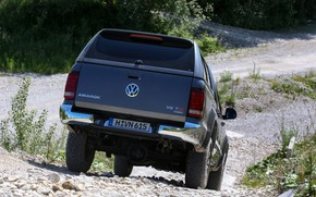 Picture the descent, Volkswagen, pickup, Amarok, Highline, Double Cab, feed, 2016