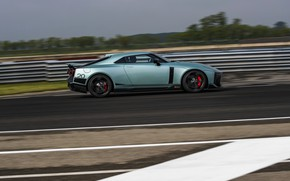 Picture speed, Nissan, GT-R, side view, R35, Nismo, ItalDesign, 2020, V6, GT-R50, 720 HP