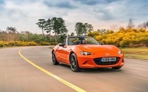Picture Speed, Mazda, Lights, MX-5, 30th Anniversary Edition, Mazda MX-5, 2019, Mazda MX-5 30th Anniversary Edition