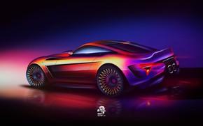 Picture Auto, Machine, Art, Art, Concept Art, Pininfarina, Vehicles, Transport, Transport & Vehicles, by Andrew Zhilyaev, …