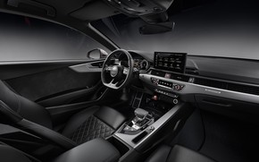 Picture Audi, salon, 2020, Coupe TDI, Aud S5
