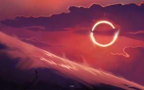 Picture The sun, Figure, People, Fantasy, Art, Carlos, Carlos Alan Maya Navarro, by Carlos Alan Maya …