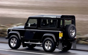 Picture speed, 2008, Land Rover, Defender, SVX, 60th Anniversary Edition