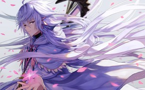 Picture anime, art, Magic, Fate Stay Night, MAG, Merlin, Fate stay night, Fate / Grand Order, …