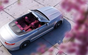 Picture Auto, Machine, Convertible, Grey, Mercedes, Mercedes Benz, Rendering, Mercedes Benz S63 AMG, Transport & Vehicles, …