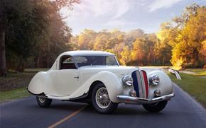 Picture Coupe, Retro, Delahaye 135 MS
