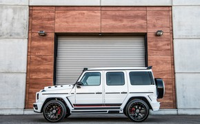 Picture Mercedes-Benz, SUV, side view, G-Class, Lumma Design, 2019, CLR G770