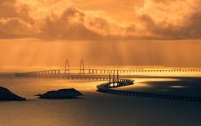 Picture bridge, Hong Kong, bridge, Hong Kong, Macau, Macau, royhoo