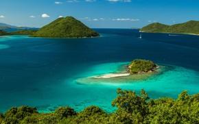 Picture Islands, tropics, the ocean, coast, Bay