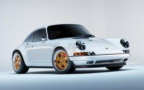 Picture Auto, White, 911, Porsche, Machine, Car, Render, Porsche 911, Rendering, Transport & Vehicles, Filip Siemiginowski, …