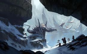 Picture knights, Klaus Pillon, Dragon's Nest, the dragon's lair