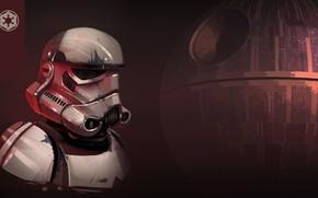 Picture Figure, Star Wars, Helmet, Art, Attack, Stormtrooper, The death star, Imperial Stormtrooper, by Luke Viljoen, …
