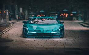 Picture Auto, Lamborghini, Machine, Aventador, Lamborghini Aventador, Rendering, Concept Art, Science Fiction, Khyzyl Saleem, by Khyzyl …