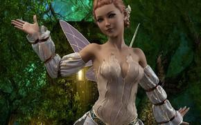 Picture girl, fantasy, costume