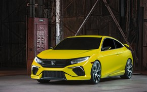 Picture coupe, Honda, the room, 2015, Civic Concept