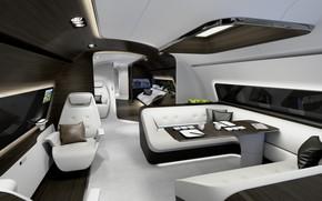 Picture interior, luxury yacht, mercdes benz design