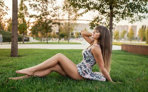 Wallpaper legs, model, pretty, A Diakov George