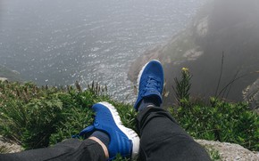 Picture sea, rock, open, the ocean, island, sea, ocean, sneakers, sea view, on the edge, sneakers