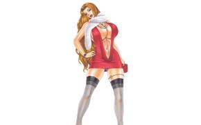 Picture Girl, Curvy, Mini dress