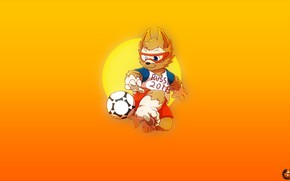 Picture The ball, Sport, Football, Wolf, Russia, Art, 2018, FIFA, FIFA, World Cup 2018, Mascot, Zabijaka, ...