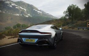 Picture Aston Martin, Road, Forza Horizon 4
