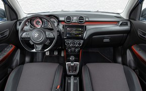Picture Suzuki, salon, Hybrid, Swift, Sport, dashboard, 2020