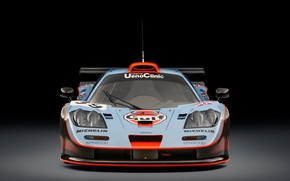 Picture McLaren, GTR, Lights, 1993, 24 Hours of Le Mans, 24 hours of Le Mans, McLaren …
