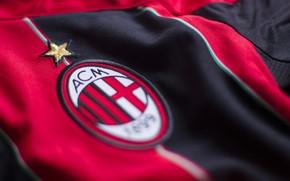 Picture wallpaper, sport, logo, football, t-shirt, AC Milan