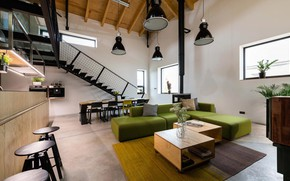 Picture design, interior, kitchen, living room, dining room