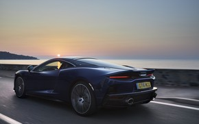 Picture sunset, McLaren, speed, supercar, 2019, McLaren GT