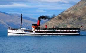 Picture retro, Canada, steamer, phulka