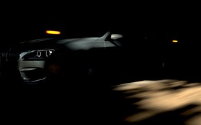 Picture HDR, BMW, Coupe, Lights, Game, BMW M6 Coupe, Tunnel, UHD, Shade, 4K, M6, Xbox One …