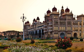 Picture the city, India, architecture, Palace, India, Mysore Palace