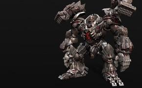 Picture rendering, robot, transformer, Shin JeongHo, RK-9