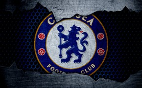 Picture wallpaper, sport, logo, football, Chelsea