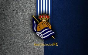 Picture wallpaper, sport, logo, football, La Liga, Royal Society