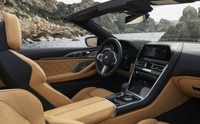 Picture interior, BMW, convertible, 2019, BMW M8, M8, F91, M8 Competition Convertible, M8 Convertible