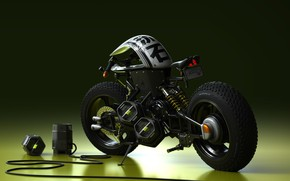 Picture design, style, motorcycle, bike