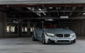 Picture BMW, Vossen, Silver, F80, Sight