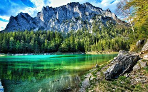 Picture landscape, mountains, nature, mountain