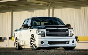 Picture Ford, muscle, tuning, custom, pickup, F-150
