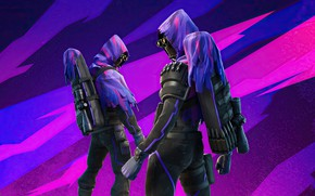 Picture two, warriors, Fortnite
