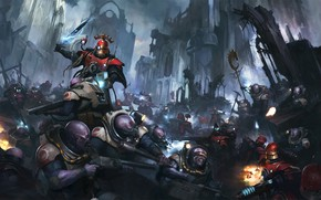 Picture the genestealers, Warhammer 40 000, forge world, Adeptus Mechanicus, sicarii