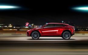 Picture Concept, speed, Lamborghini, crossover, Urus